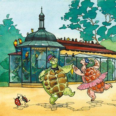 Tanz der Schildkröten