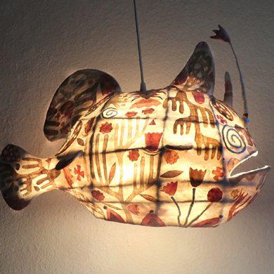 "Lampe ""Fisch"""